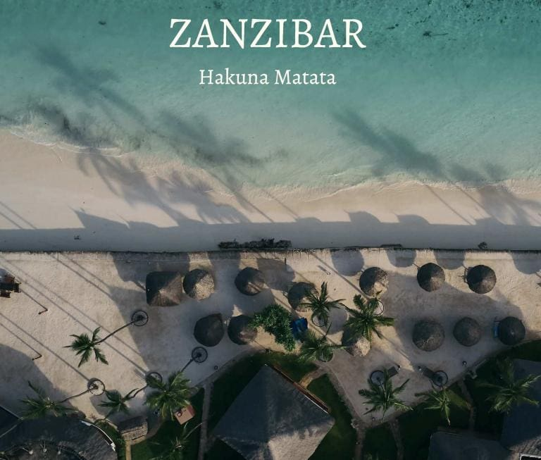 a travel book from zanzibar. Portraits of local people and beautiful landscapes