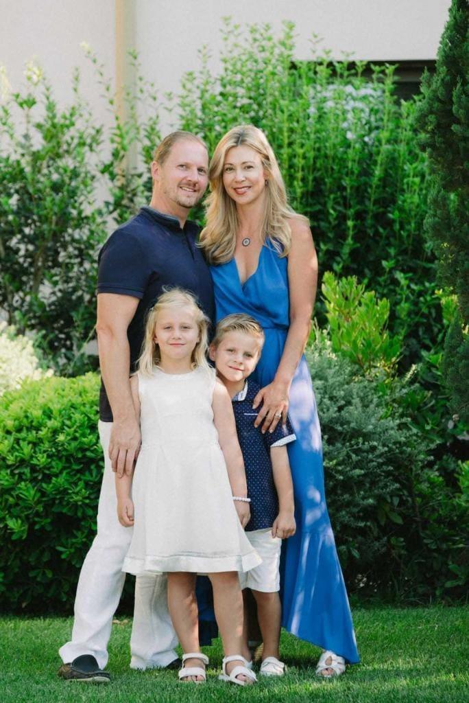 Family photos at Costa Navarino 1