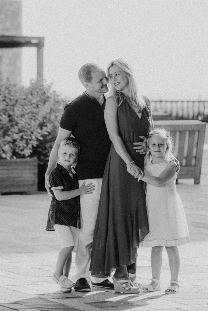 Family photos at Costa Navarino 3