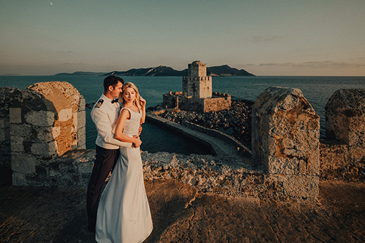 Military-wedding-in-methoni-castle