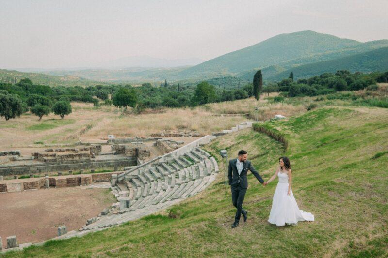 Υπέροχη φωτογράφιση στην Αρχαία Μεσσήνη